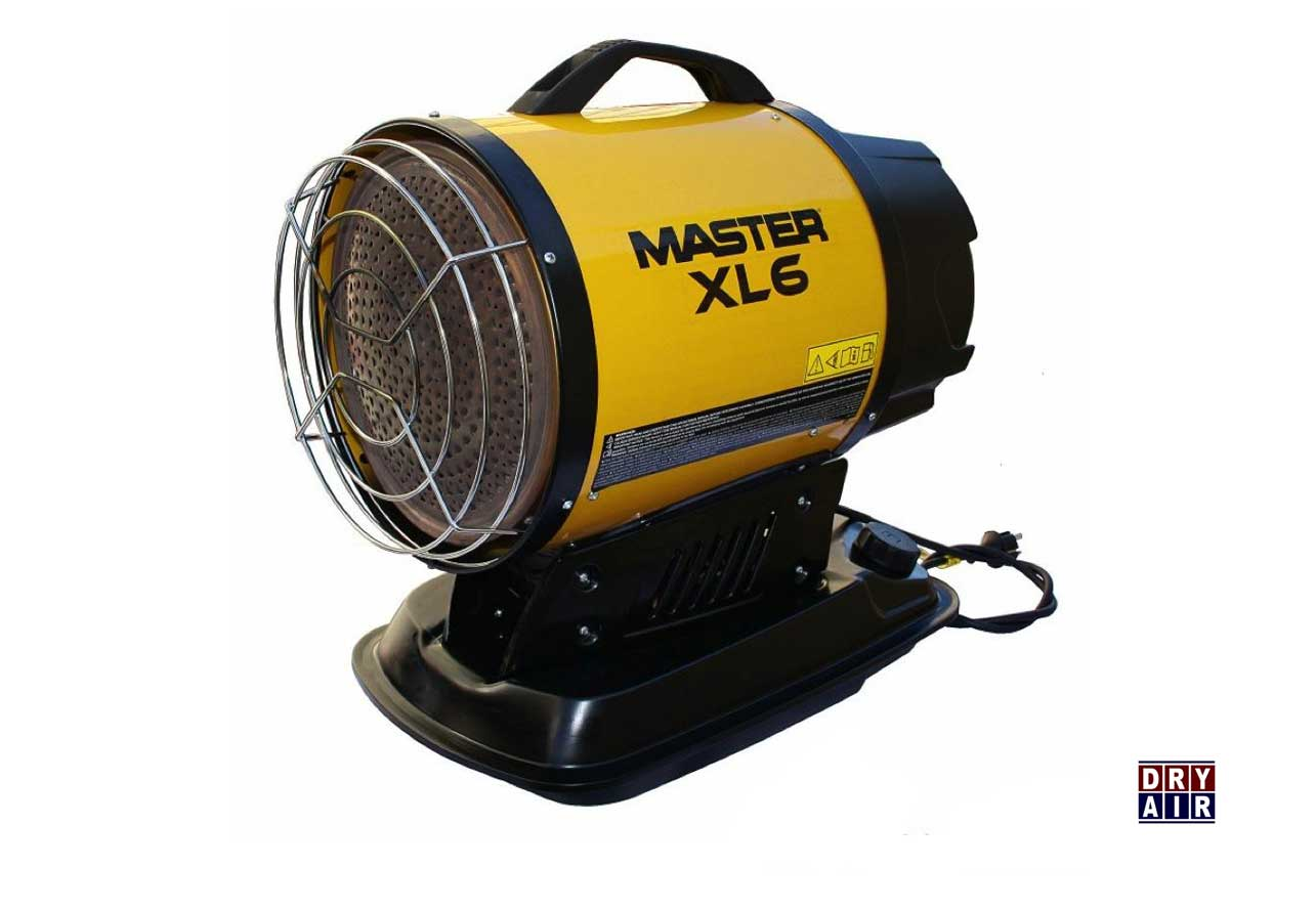 XL6 Infrarood Heater
